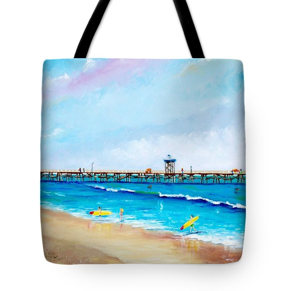 Jr. Lifeguards Tote Bag