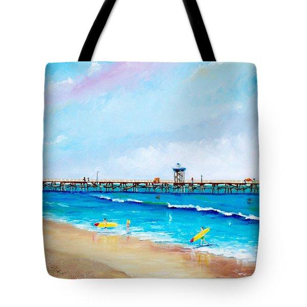 Jr. Lifeguards Tote Bag