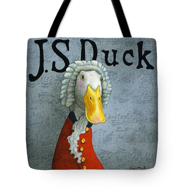 J.s. Duck Tote Bag