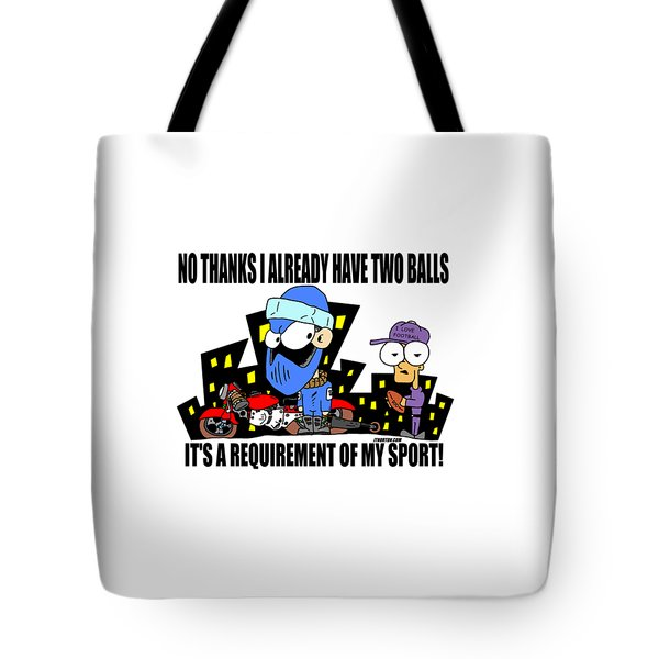 Jt Two Of Them Tote Bag