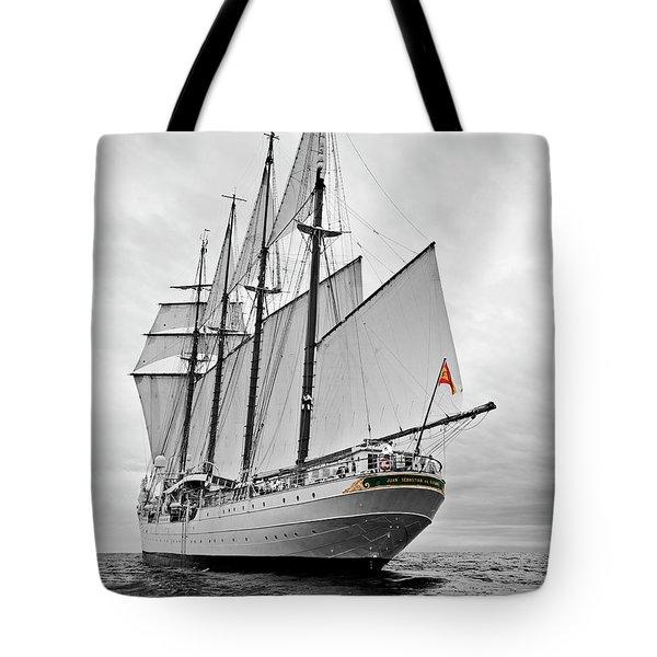 Juan Sebastian De Elcano In Its World Wild Travel Tote Bag