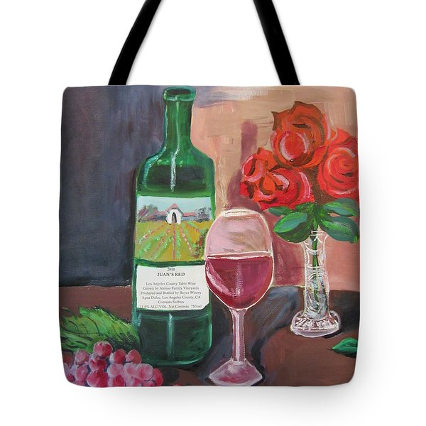 Juan's Red Tote Bag