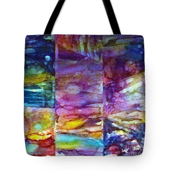 Jubilation Tote Bag by Alene Sirott-Cope