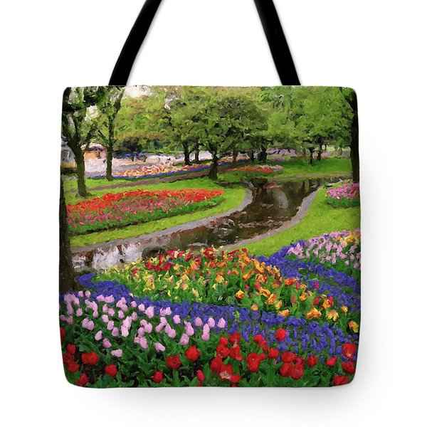 Tote Bag featuring the digital art Jubilee  by Rosario Piazza