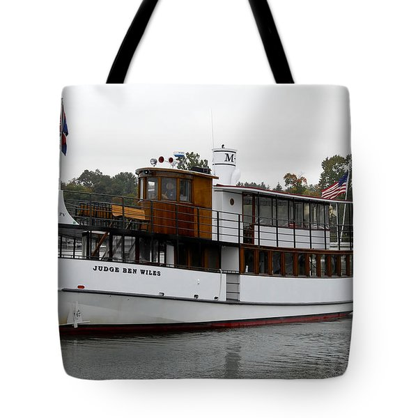 Judge Ben Wiles Tote Bag by David Lee Thompson