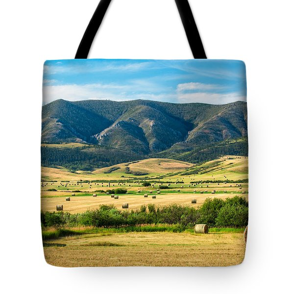 Tote Bag featuring the photograph Judith Mountain Memories by Todd Klassy