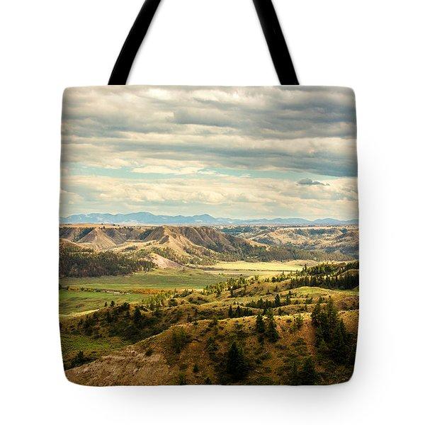 Judith River Breaks Tote Bag
