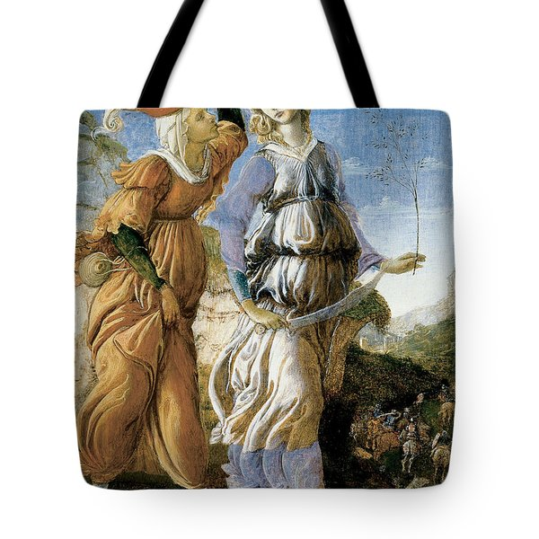 Judith With The Head Of Holofernes Tote Bag