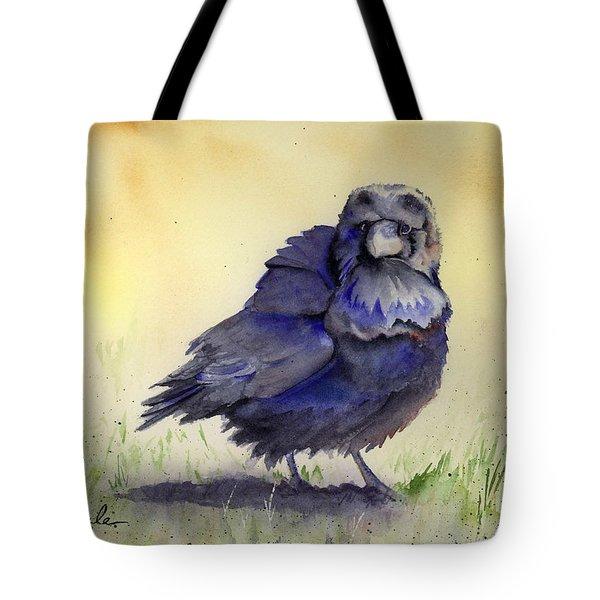 Judy's Raven Tote Bag