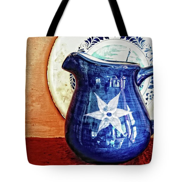 Jug Tote Bag by Charuhas Images