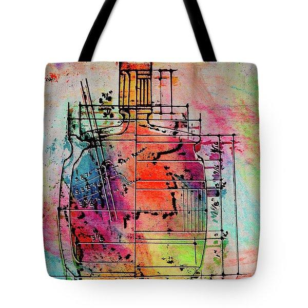 Jug Drawing Tote Bag by Don Gradner