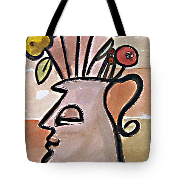 Jug Face Tote Bag