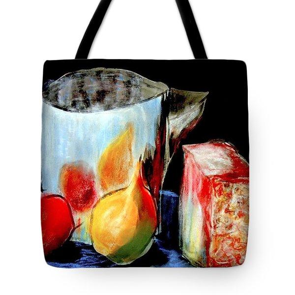Jug With Fruit Tote Bag