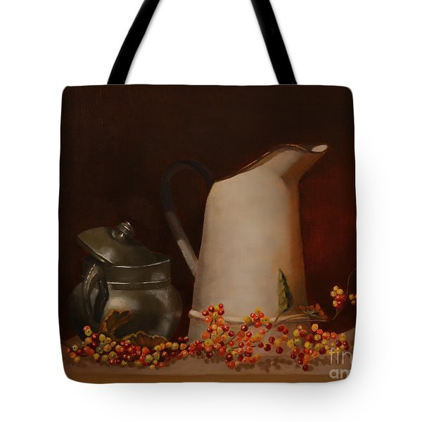Jugs Tote Bag by Genevieve Brown