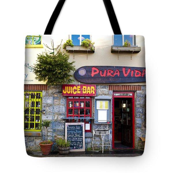 Juice Bar Tote Bag by Rae Tucker