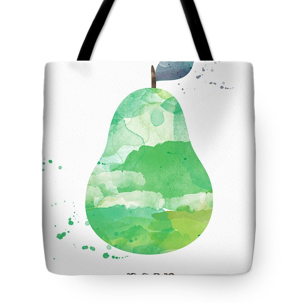Juicy Pear Tote Bag