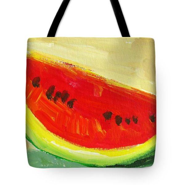 Juicy Watermelon - Kitchen Decor Modern Art Tote Bag