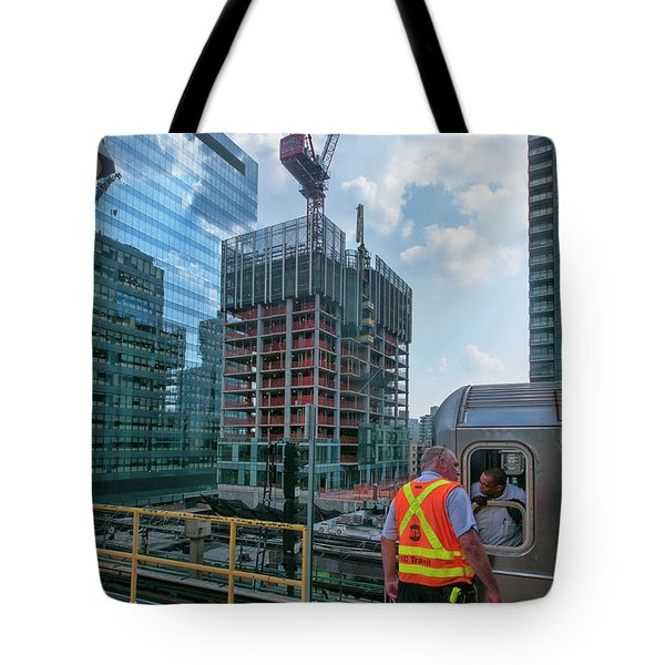 Tote Bag featuring the photograph Jul 28 2015 by Steve Sahm