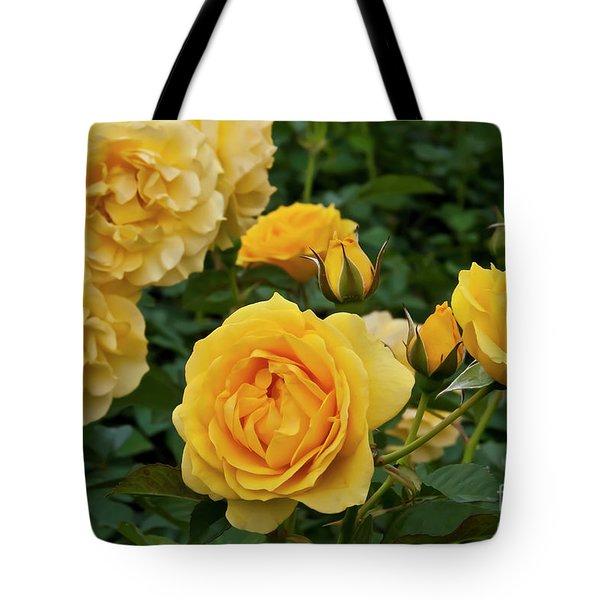 Julia Child Floribunda Tote Bag