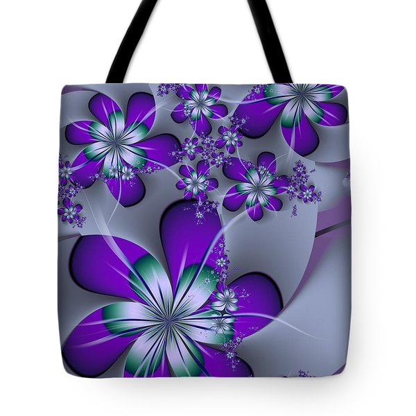 Tote Bag featuring the digital art Julia The Florist by Michelle H