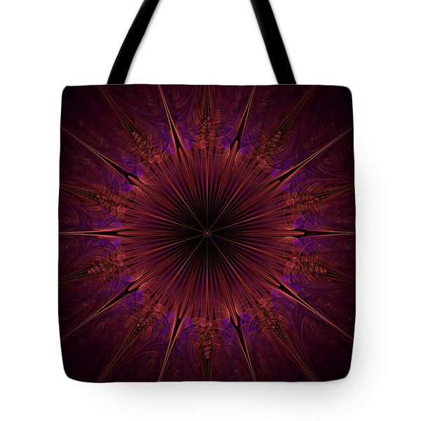 The Violet Blessings Of The Crown Chakra Tote Bag