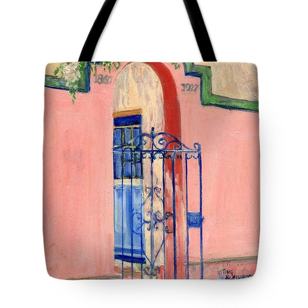 Juliette Low Garden Gate Savannah Tote Bag