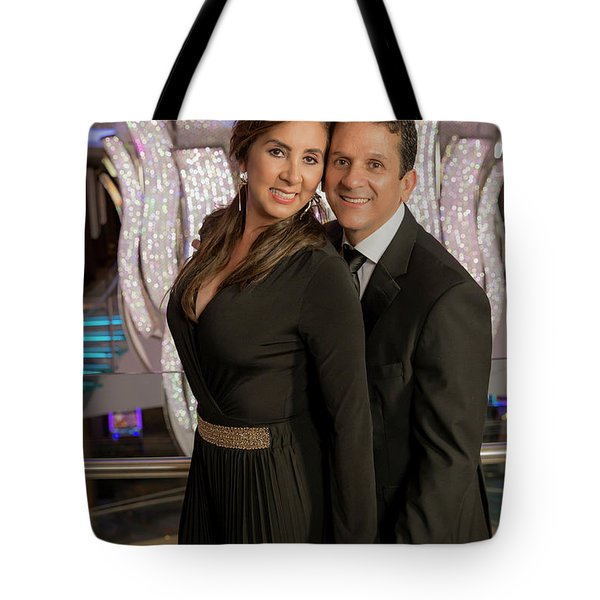 Julio Y Dianita Tote Bag