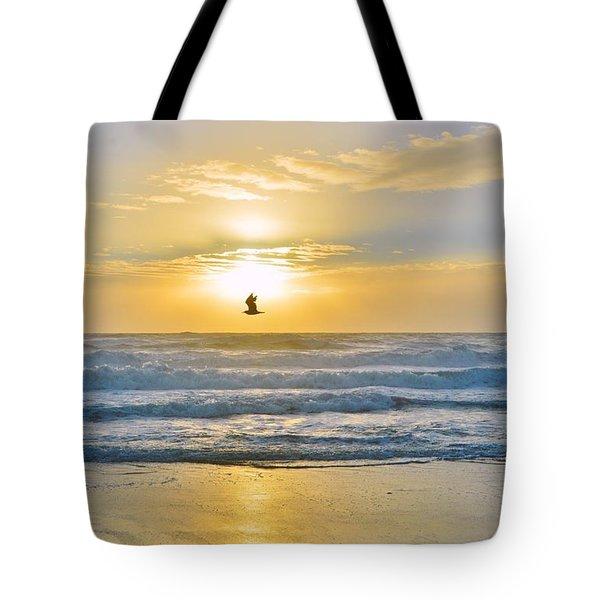 July 30 Sunrise Nh Tote Bag