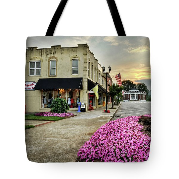 July 4th In Murphy North Carolina Tote Bag by Greg Mimbs
