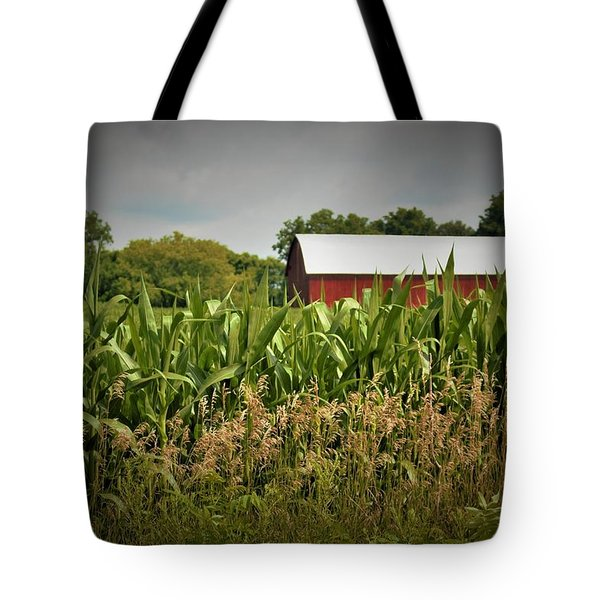 0020 - July Corn Tote Bag