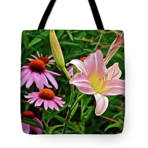 July Lily #10 Tote Bag