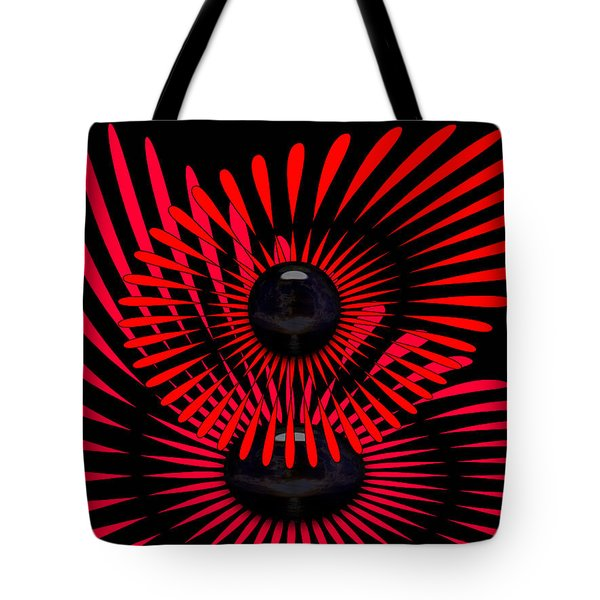 Tote Bag featuring the digital art July by Robert Orinski