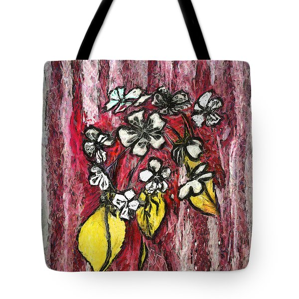 Tote Bag featuring the painting July Roundelay by Viktor Savchenko
