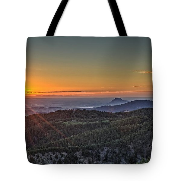 July Sunrise Tote Bag