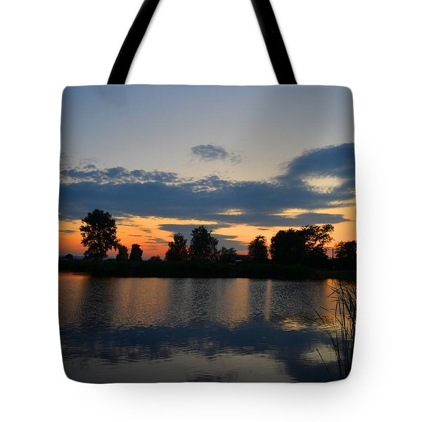 July Sunset Tote Bag