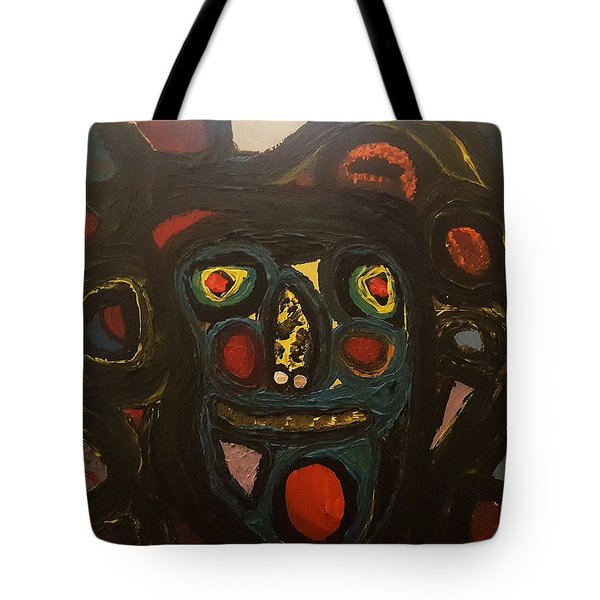 Jumbled Mindset Tote Bag