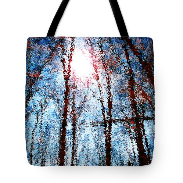 Jumbled Waters Tote Bag