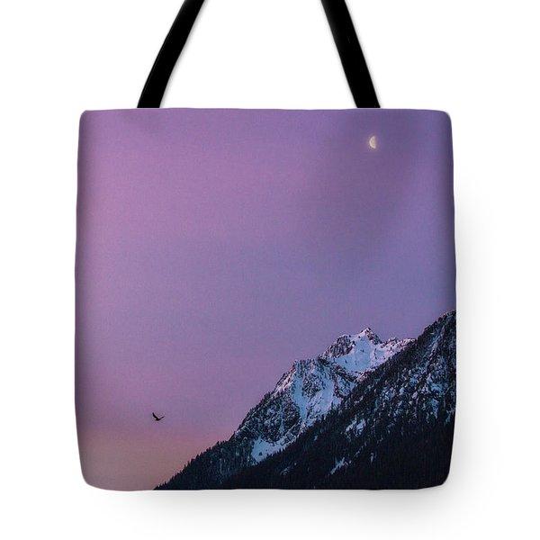 Jumbo Sunrise Tote Bag