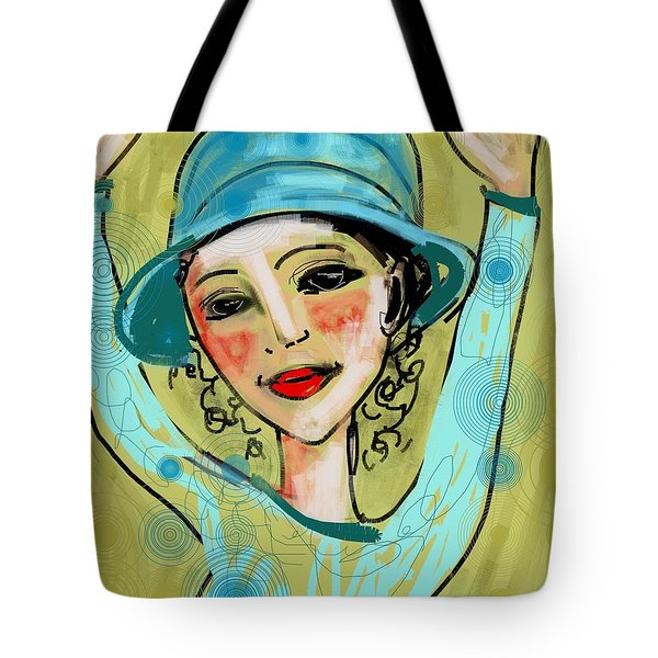 Jump For Joy Tote Bag by Elaine Lanoue