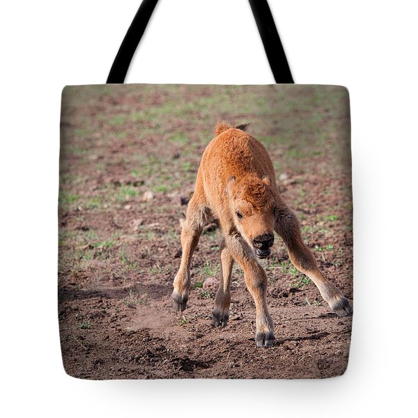 Jump For Joy Tote Bag