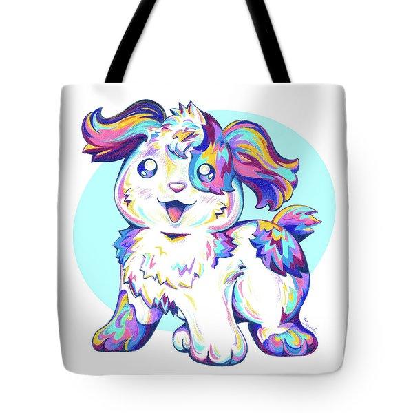 Jumped Through A Rainbow Tote Bag