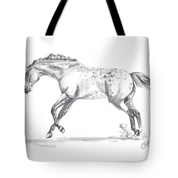 Jumping Around Tote Bag