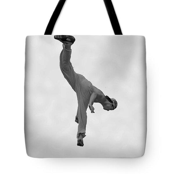 Jumping Man Tote Bag