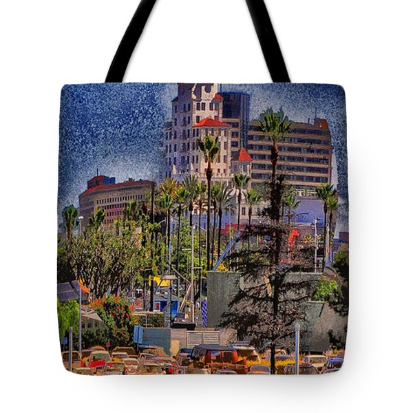 Jumping The Breakers Tote Bag