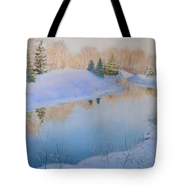 Junction Creek Tote Bag