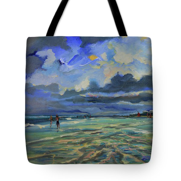 June Afternoon Tidepool Tote Bag