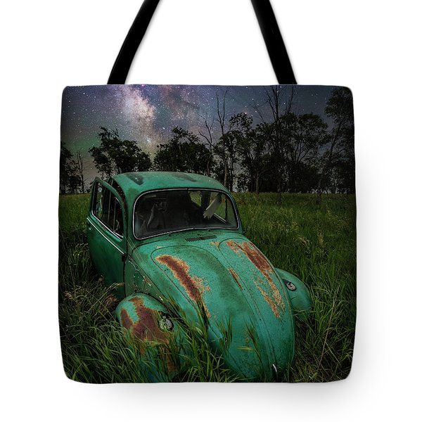 Tote Bag featuring the photograph June Bug by Aaron J Groen