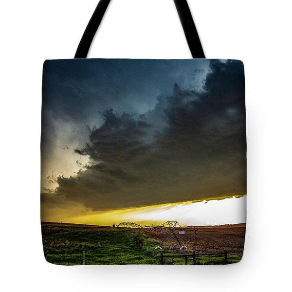 June Comes In With A Boom 005 Tote Bag