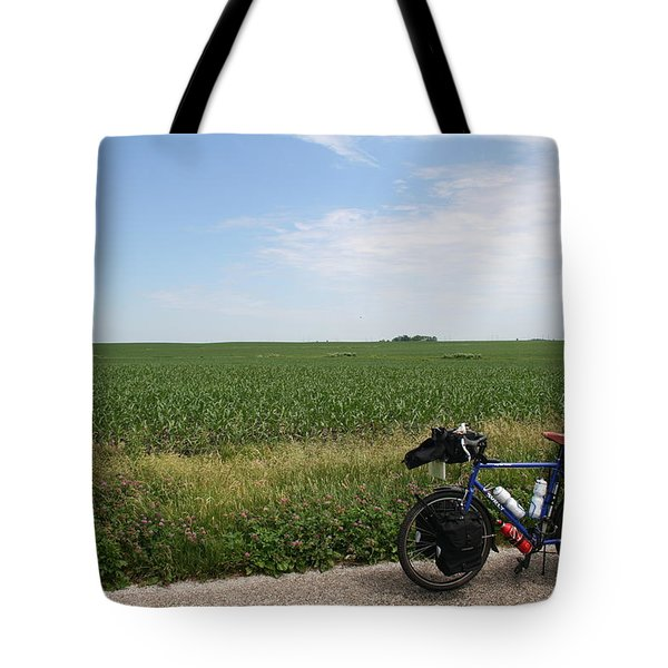 Tote Bag featuring the photograph June Field Tourer by Dylan Punke
