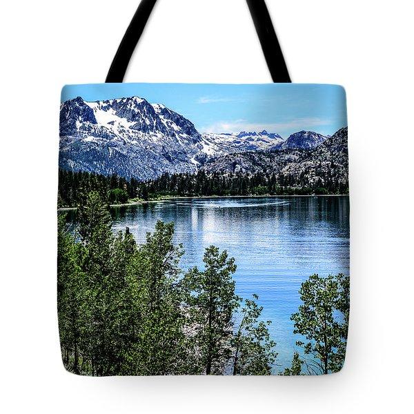 June Lake Portrait Tote Bag